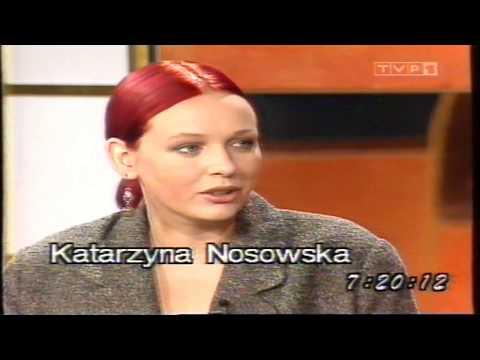 Kasia Nosowska - wywiad / Kawa czy herbata - wrzesień 1996/