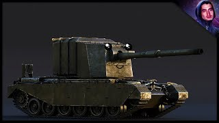 the Largest Gun In-Game Just Got Better!  Fv 4005 (War Thunder Tank Gameplay)