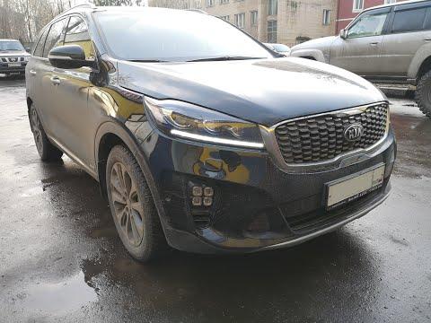 Kia Sorento Prime - Чип-Тюнинг, замер разгона