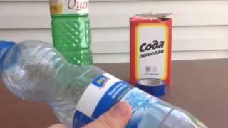 газируем напитки дома ( с помощью уксуса и соды)