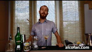 Грязный мартини - классический рецепт коктейля