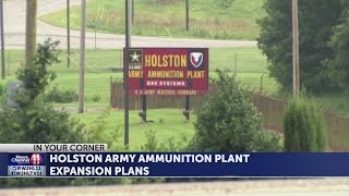State approves air quality permit for Phase 1 of Holston Army Ammunition Plant expansion