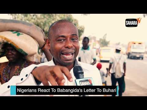 Nigerians React To Ibrahim Babangida's Letter To President Muhammadu Buhari