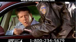 """Pulled Over"" AARP/Hartford Auto Insurance DRTV Spot"