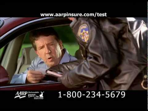 """Pulled Over"" AARP/Hartford Auto Insurance DRTV Spot"