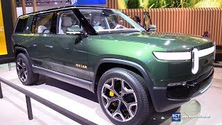 Rivian R1S Electric SUV - Exterior and  Interior Walkaround - Debut 2018 LA Auto Show