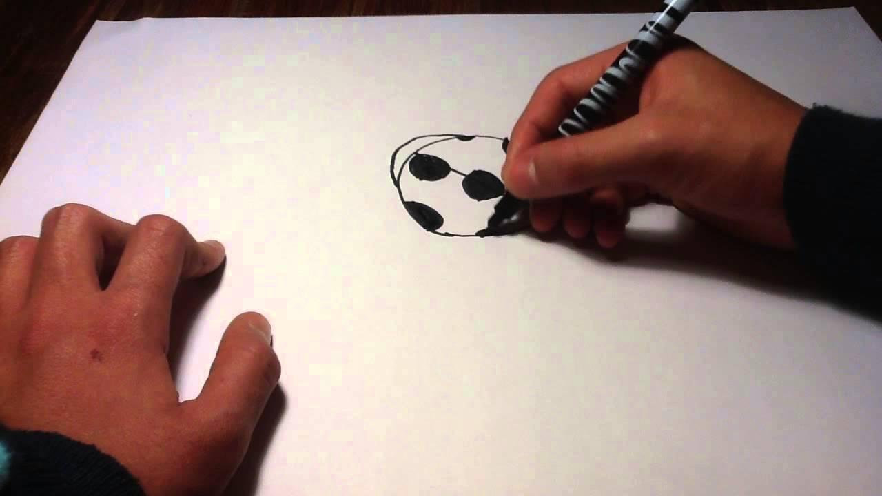dessiner une coccinelle - dessin pour enfants