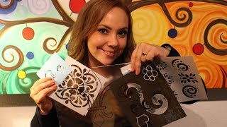 Como hacer tus propios stencils o Plantillas  / Make your own stencils