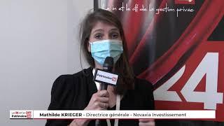 Interview de Mathilde KRIEGER, directrice générale de Novaxia Investissement