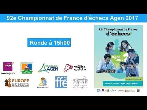 Championnat de France Agen 2017 - Ronde 2