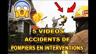 Vidéos d'accidents de POMPIER sur interventions