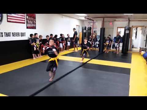 Kids Boxing drill 1