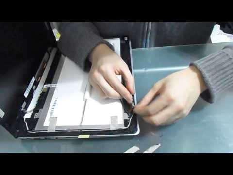 How to replace screen on Asus S400C S400CA touch screen laptop
