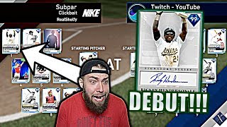 RICKEY HENDERSON DEBUT VS. TOP 50 PLAYER! MLB The Show 19!