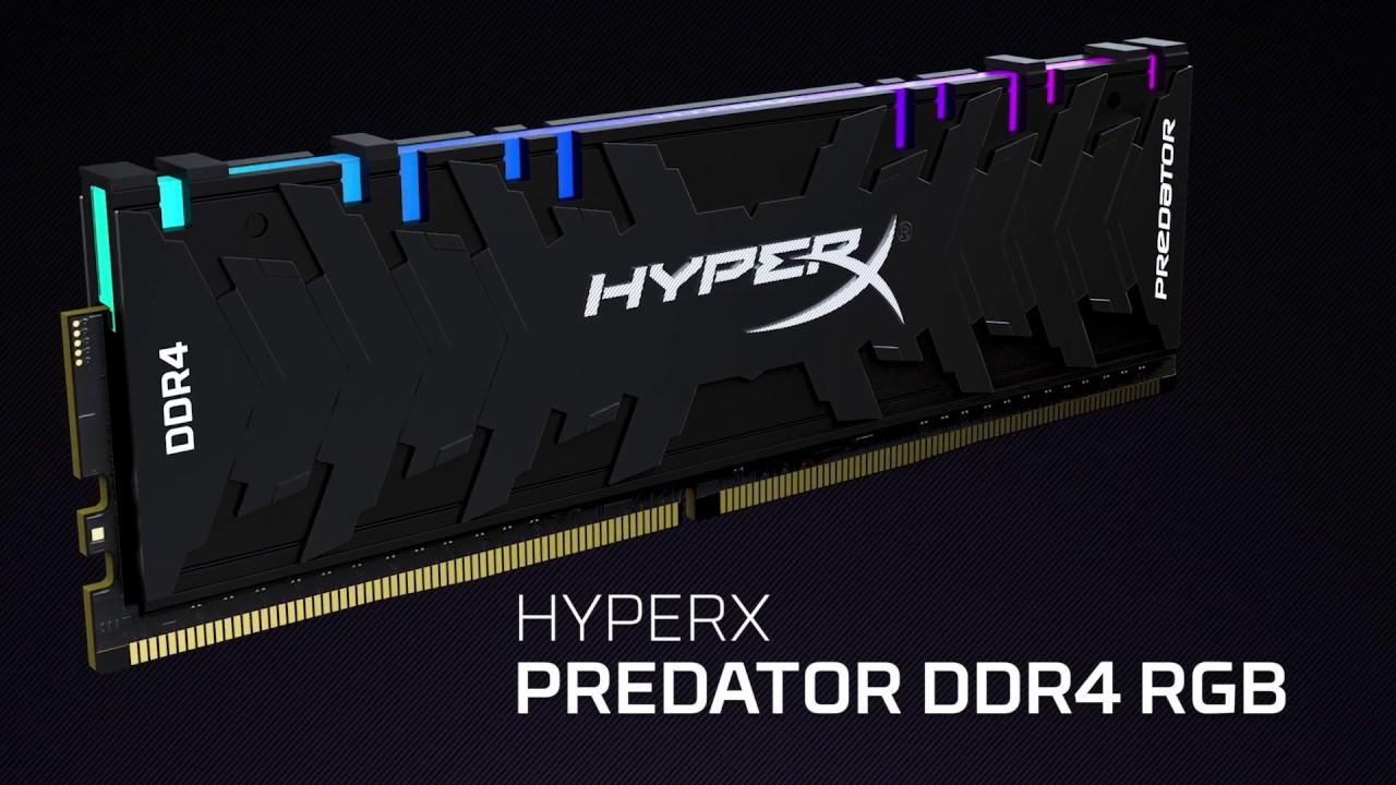 HyperX Predator DDR4 RGB High Speed Gaming DRAM