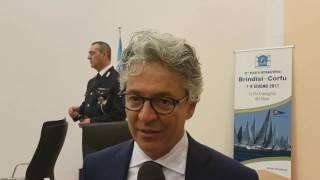 Intervista Teo Titi presidente Regata Brindisi Corfù