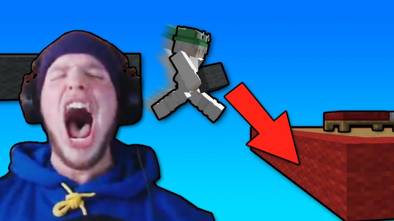 I Did the Most WILD Clutch in Minecraft Bedwars…