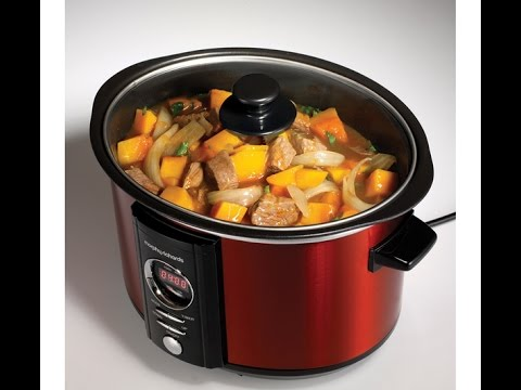 Morphy Richards Digital Sear And Stew Slow Cooker 460005 Youtube Than heating a large conventional oven. morphy richards digital sear and stew slow cooker 460005