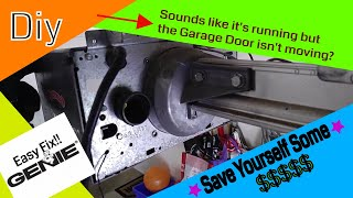 🆕Genie Garage Door Opener Not Moving Grinding Noise | AMAZON Part# In The Video