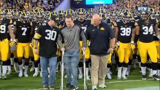 Brett Greenwood Honorary Captain vs. Pitt