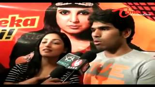 Allu Sirish and Yaami Gautam at Prasads IMAX