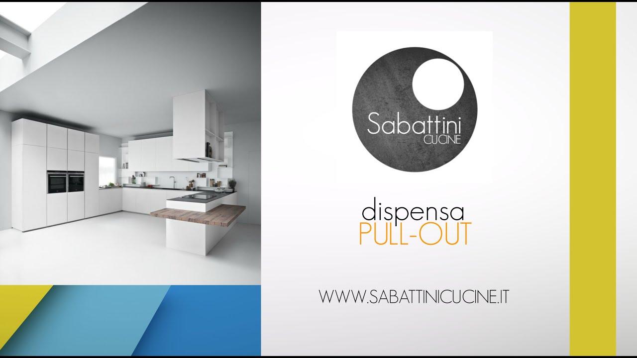 sabattini cucine dispensa pull-out 2015 - youtube - Sabattini Cucine