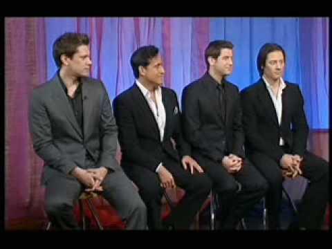 Il Divo Interview 13th Nov 08