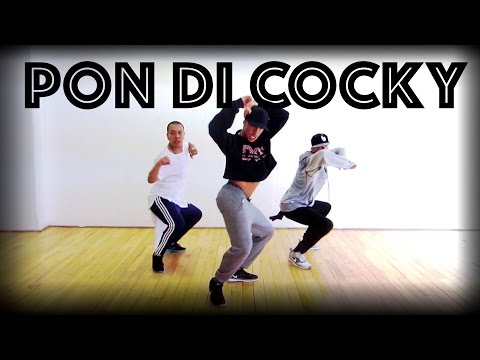 Pon Di Cocky   Dancehall Workshop   Zach Dopson Choreography.
