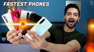 Top 6 Fastest Android Smartphones Under Rs.15,000 [March 2020]