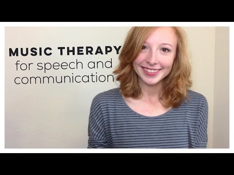 Music Therapy Benefits: Speech and Communication!!