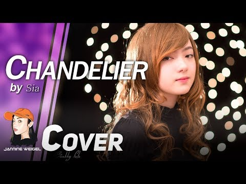 Chandelier - Sia cover by Jannine Weigel (พลอยชมพู) - YouTube