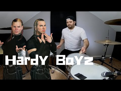 WWE Hardy Boyz Loaded Theme Song Drum Cover