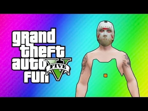 Thumbnail: GTA 5 Online Funny Moments - Invisible Body Glitch, Truck Orgy, Unknown Visitors!