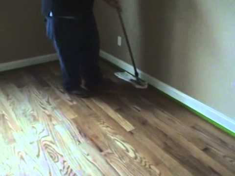 Wooden Floor Wax Removal Process YouTube - How to remove mop and glo from hardwood floors