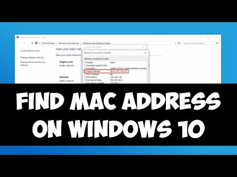 find-mac-address-on-windows-10