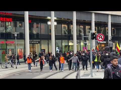 Kurdische Demo Hannover