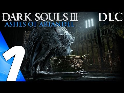 Dark Souls 3 Ashes of Ariandel (PS4) - Gameplay Walkthrough Part 1 - Painted World of Ariandel
