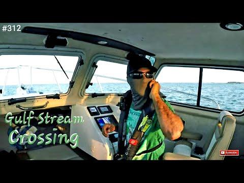 Solo Gulf Stream Crossing In My Crooked PilotHouse Boat Bimini Bahamas To Miami Florida