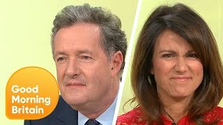GMB Practise Their Winning and Losing Faces Ahead of the NTAs | Good Morning Britain