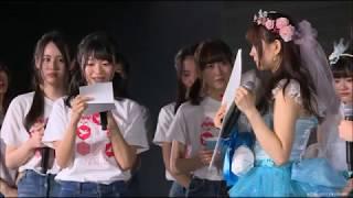 NGT48研究生の水澤彩佳、涙で卒業
