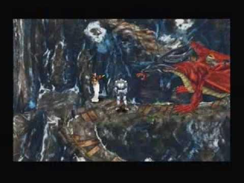 Final Fantasy VIII Boss: Ruby Dragon funny moment! (Laguna Dream World 4)