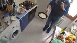 Random Cooking With Steve: American Pancakes & Italian Frittata