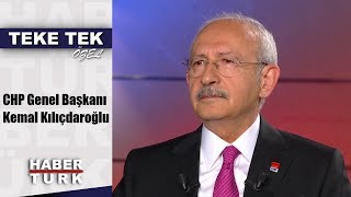 Teke Tek Özel - 3 Eylül 2019  Chp Genel Başkanı Kemal Kılıçdaroğlu