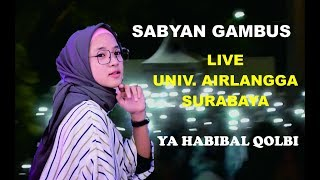 Kejadian Heboh !! Saat konser Nissa Sabyan Univ. Airlangga Surabaya...// Ya Habibal Qolbi