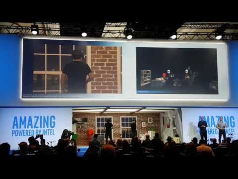 【CES2017】Intel Press Conference Project alloy multiplayer demo