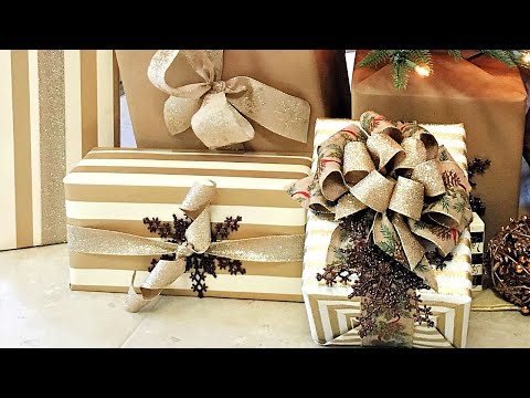 How To Make A Bow w/ Ribbon Day 8 of The 12 Days of Christmas