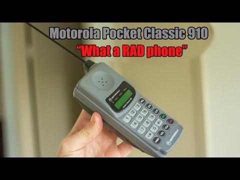 Motorola Pocket Classic 910 (parody review)