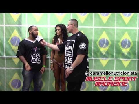 Étila Santiago bikini fitness brasileiro IFBB 2016 - Caramello nutricionista