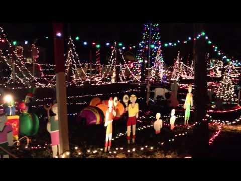 Christmas Island Lights, Ruskin Florida - Near Sun City | RealEstateHawker.com Youtube Video