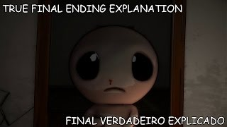 Binding of Isaac: Afterbirth+ TRUE FINAL ENDING CUTSCENE AND EXPLANATION